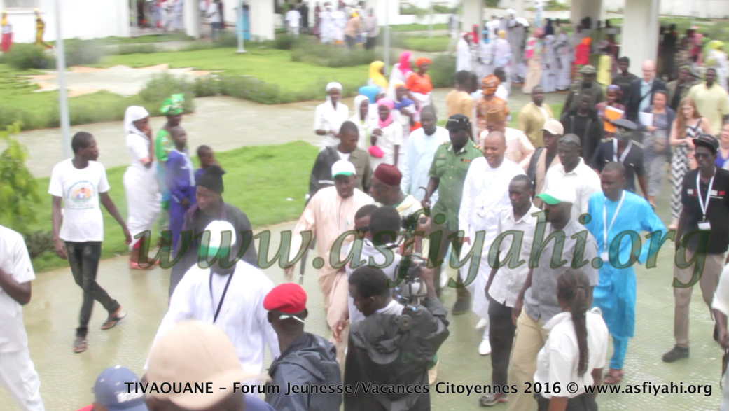 PHOTOS - 17 AOÛT 2016 À TIVAOUANE - Les Images du Forum TIVAOUANE - Forum Jeunesse/Vacances Citoyennes 2016, présidé par le Ministre Mame Mbaye Niang
