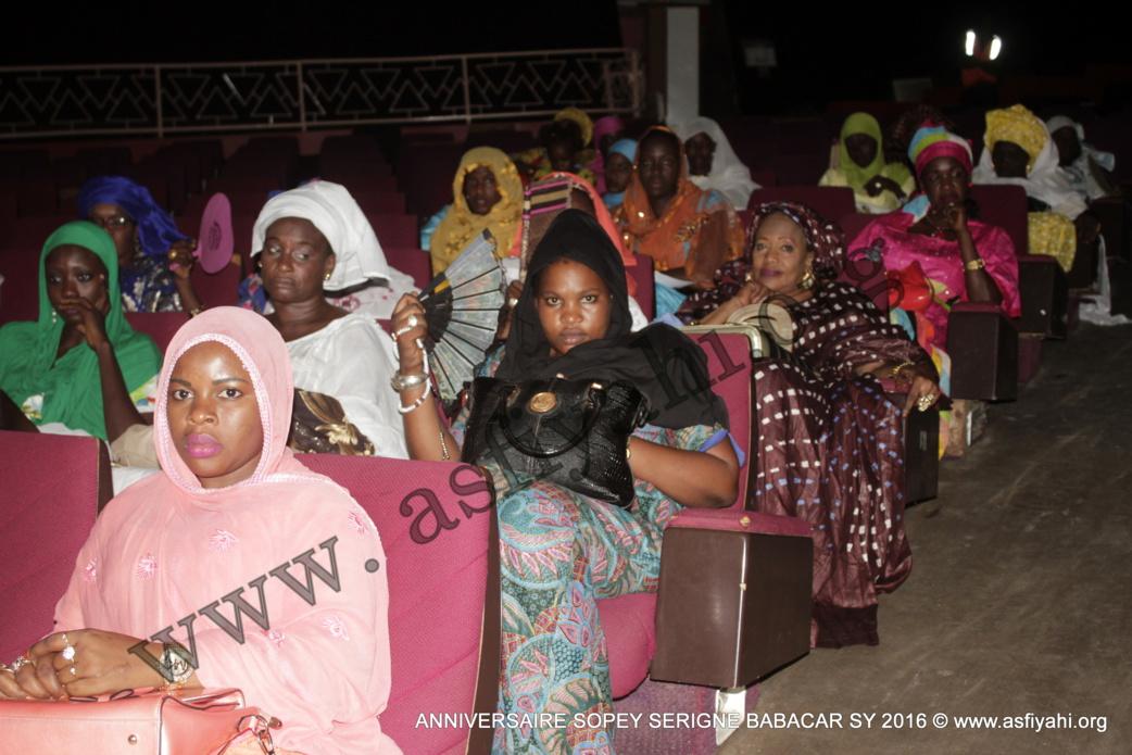 PHOTOS - 15 OCTOBRE 2016 AU CICES - Les Images de l'anniversaire de l'association Sopey Serigne Babacar Sy, présidé par Serigne Sidy Ahmed Sy Al Amine et Serigne Issa Touré