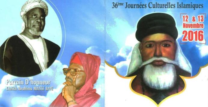 36éme Édition des Journées Cheikh Ahmed Tidiane Cherif (rta): Les 12 et 13 Novembre 2016 à la Grande Mosquée de Dakar; PARRAIN D'HONNEUR: Cheikh Ibrahima Niasse  (rta)