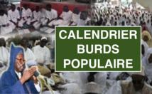 Gamou Tivaouane  2016 - Voici le Calendrier de Burds Populaires 2016
