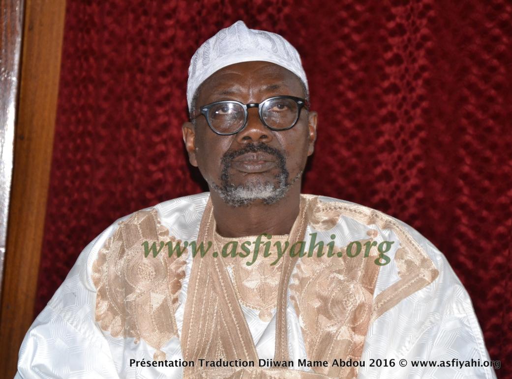PHOTOS - les Images de la Ceremonie de Presentation du Diiwaan d'El Hadj Abdoul Aziz SY Dabakh (rta), traduit en français par le Pr Rawane Mbaye