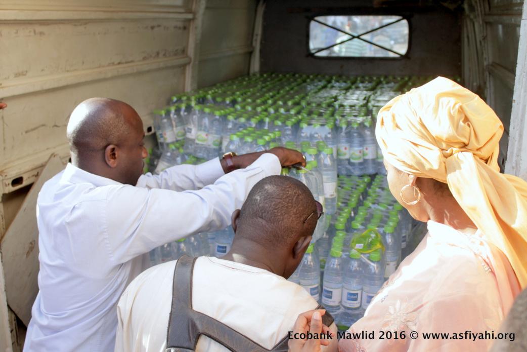 PHOTOS - Gamou Tivaouane 2016 - Le groupe ECOBANK offre 5000 packs d'eau