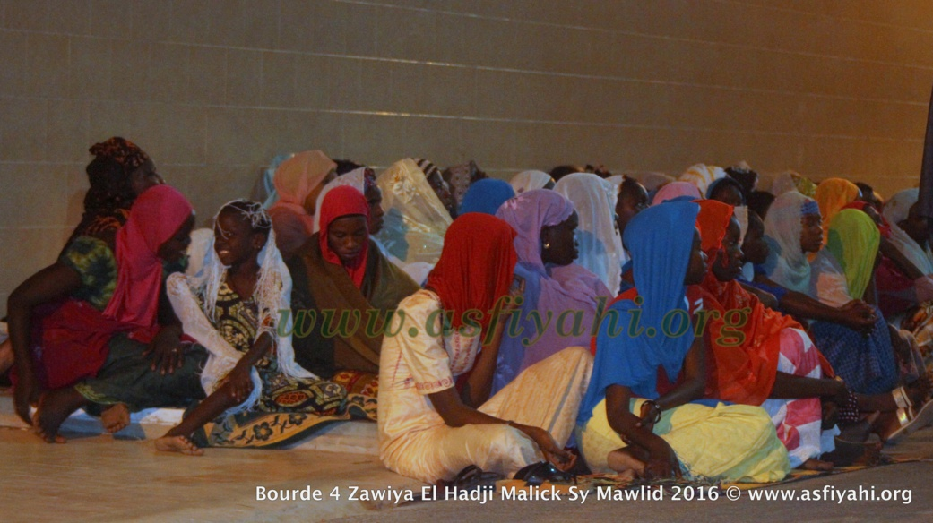 PHOTOS - BURD GAMOU TIVAOUANE 2016 - Les Images de la Nuit du Samedi 3 Decembre 2016 à la Zawiya El hadj Malick Sy