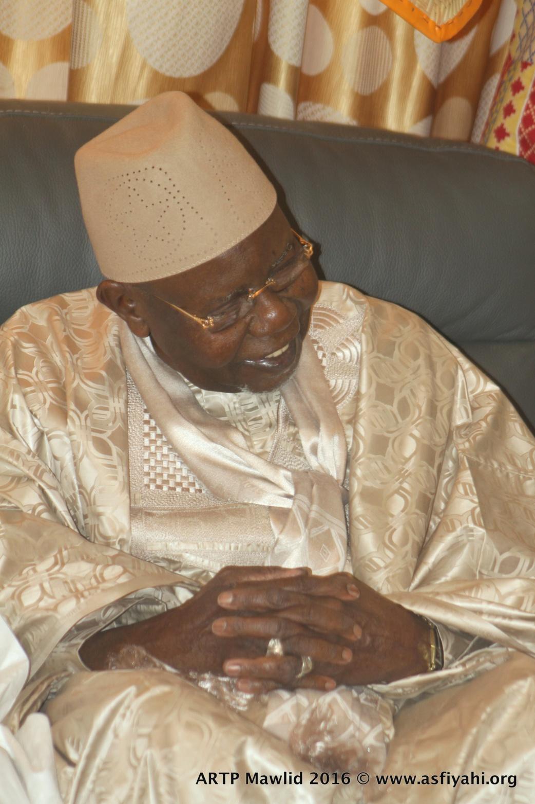 Gamou Tivaouane 2016 - L'ARTP renforce son dispositif et appuie les autorités religieuses : Le Directeur Abdou Karim Sall reçu par Serigne Abdoul Aziz Sy Al Amine