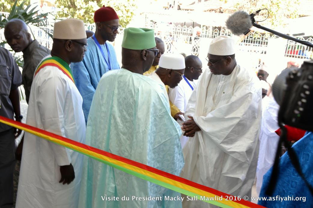 PHOTOS - Les Images de la Visite du President Macky Sall à Tivaouane, et l'inauguration de la résidence Serigne Mansour SY