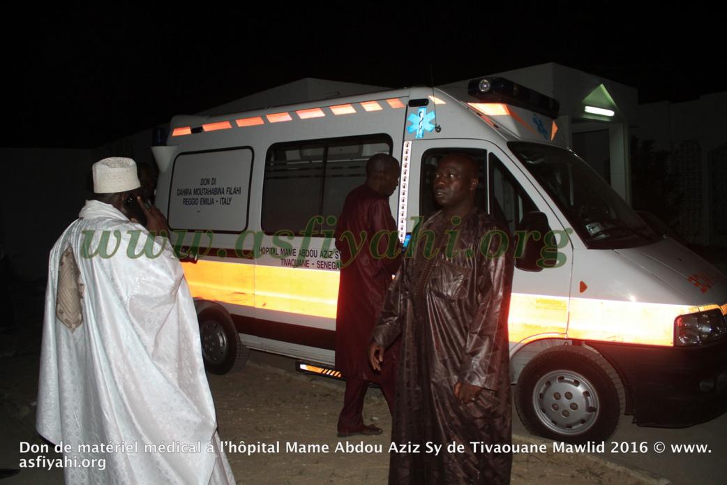 PHOTOS - GAMOU 2016 - Les images de la Cérémonie de remise de Don de matériel médical à l'hôpital El Hadj Abdoul Aziz Sy Dabakh de Tivaouane