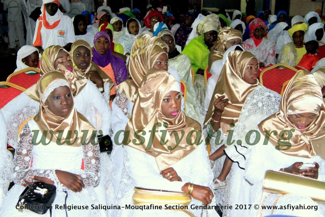 PHOTOS - 1ER AVRIL 2017 - Les Images de la Conférence Saliquina Mouqtafine, Section Gendarmerie, présidée par Serigne Moustapha Sy Abdou