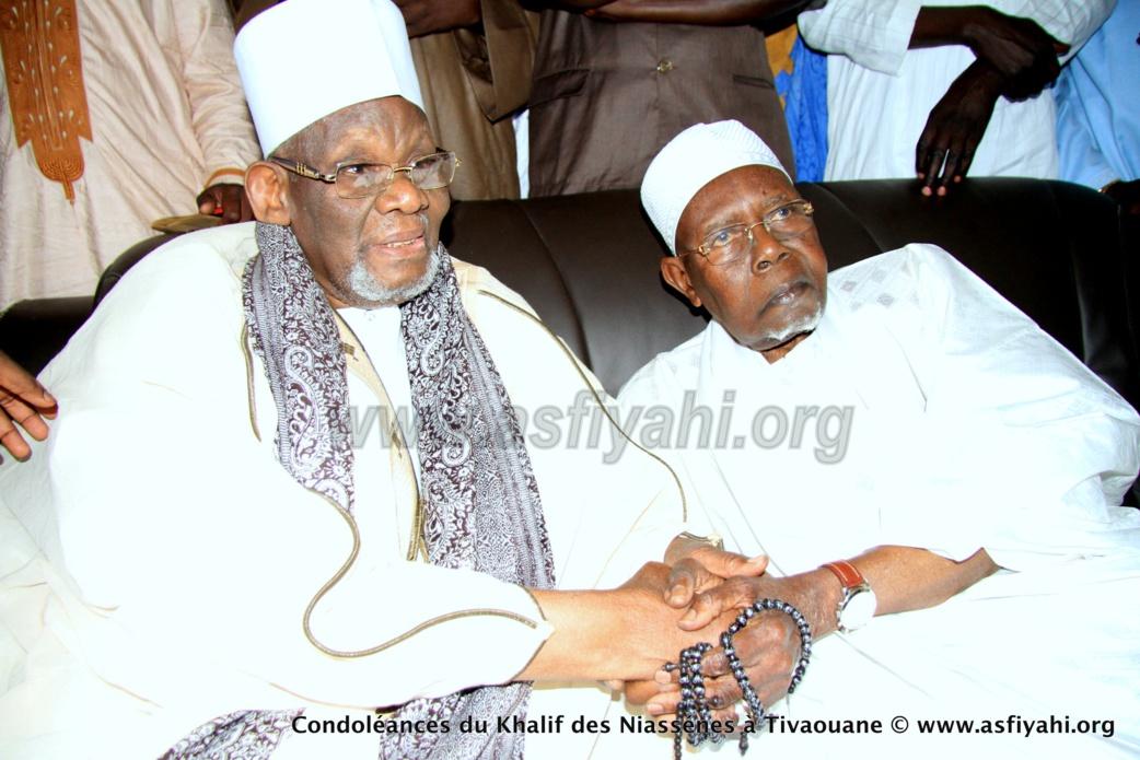 PHOTOS - TIVAOUANE - Les Images de la présentation de Condoléances du khalif de Médina Baye, Cheikh Ahmad Tidiane Niasse
