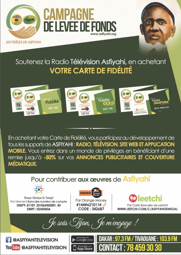 Soutenez le Groupe Asfiyahi Communication