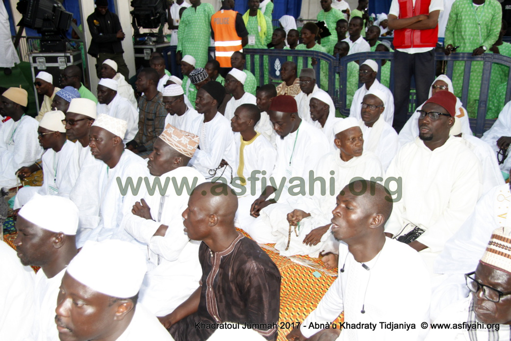 PHOTOS - Retour en Images sur la 5éme édition de la Hadratoul Djumah 2017, organisée au Stade Amadou Barry sous la direction de Serigne Abdoul Aziz Sy AL Amine