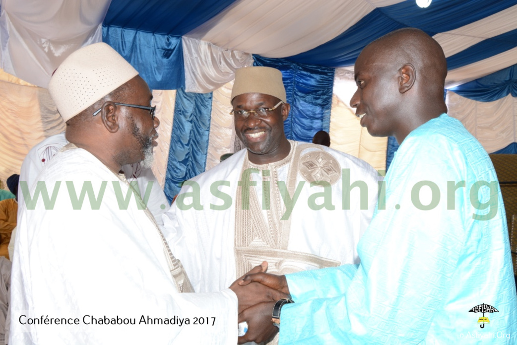 PHOTOS - RAMADAN 2017 - Les Images de la Conférence du Dahiratoul Chababoul Ahmadiyya de Serigne Cheikh Ahmed Tidiane Tall