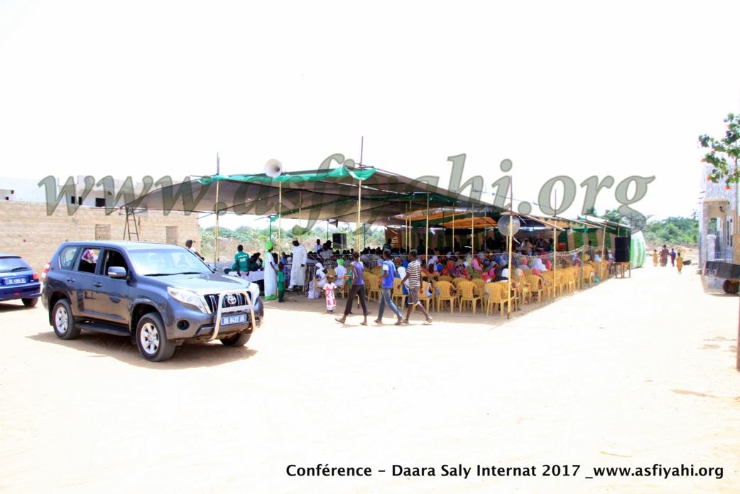 PHOTOS - Les Images de la Conférence du Daara Saly Internat , édition 2017 , animée par Oustaz Makhtar Sarr