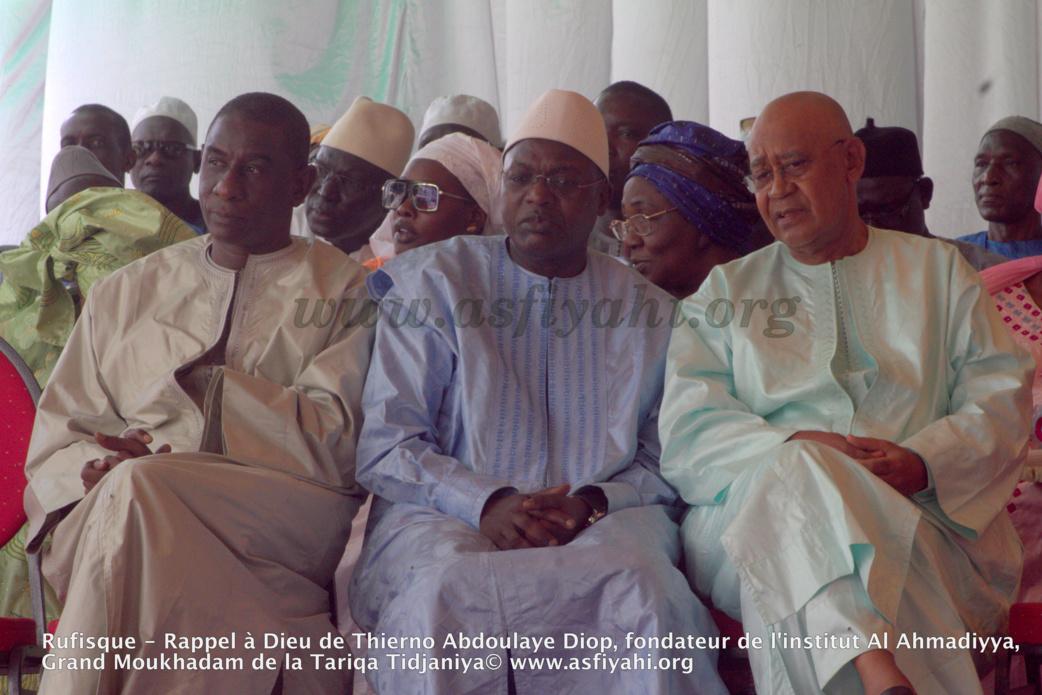 PHOTOS - Les images de la présentation de Condoléances du President Macky Sall chez Thierno Abdoulaye Diop, fondateur de l'institut Al Ahmadiyya