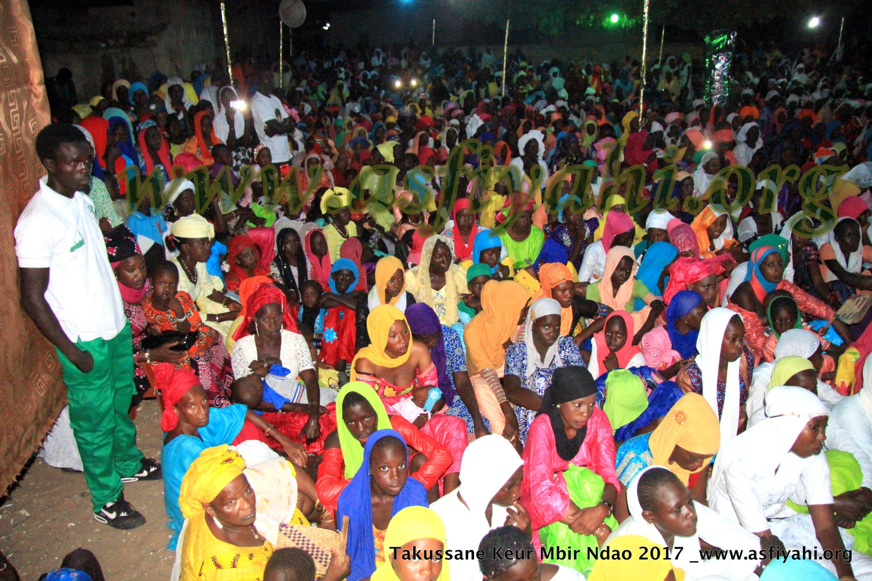 PHOTOS - MBIR NDAO - Les images du Takoussan de la Dahira Mouhsinina Wal Mouhsinaty de Keur Mbir Ndao, presidé par Serigne Habib Sy Mansour
