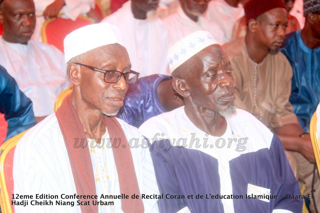 PHOTOS - Les Images de la Conférence annuelle de Récital du Saint Coran du Daara El Hadj Cheikh Niang de Scat urbam