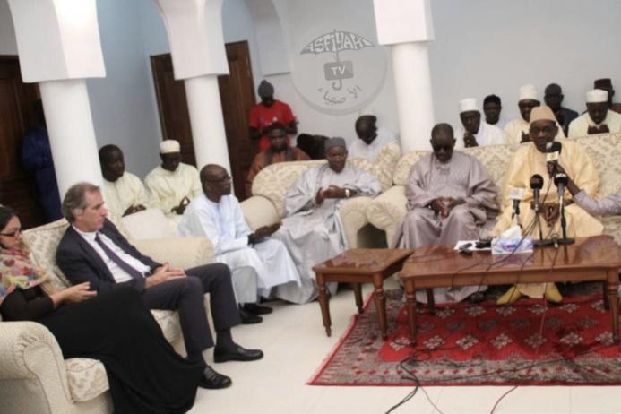 RAPPEL À DIEU D'AL AMINE: L'Ambassadeur de France au Sénégal, Son Excellence Christophe Bigot à Tivaouane