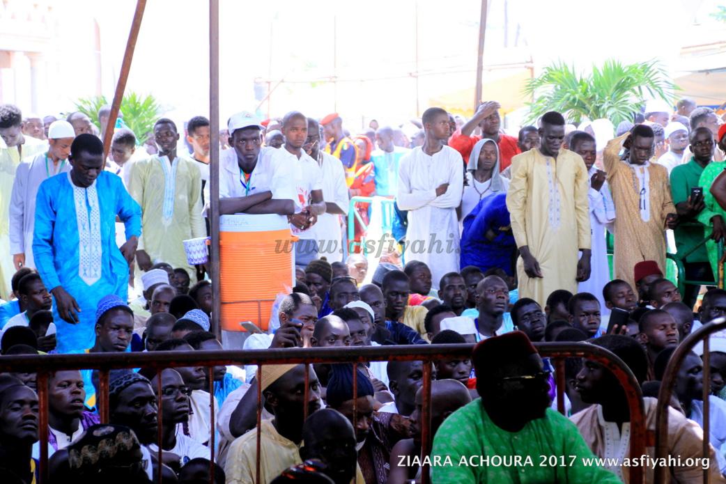 PHOTOS - ZIARRA ACHOURA 2017 À TIVAOUANE:  Serigne Abdoul Aziz Sy Al Amine, l'absent le plus présent