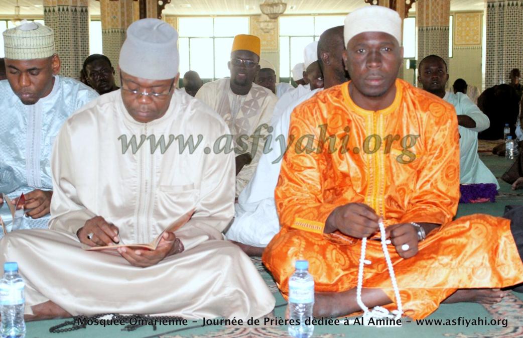 PHOTOS - Mosquée Omarienne: Les Images de la Journée de Prières dédiée à Serigne Abdoul Aziz Sy Al Amine  (rta)