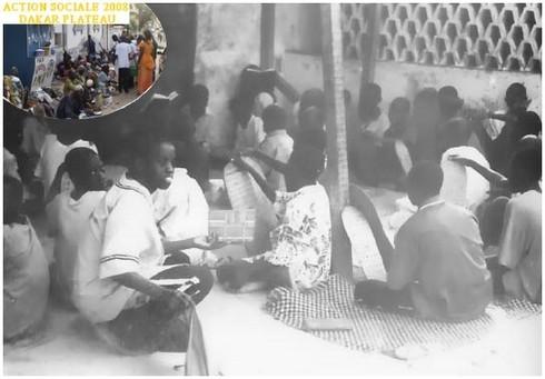 Don de Vêtements , Couvertures & Produits Hygiénique au Daara Seydil Hadji Malick SY de Tivaouane