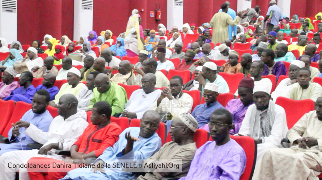 PHOTOS - Les Images de la presentation de Condoleances du Dahira Tidiane de la SENELEC, au Khalif General des Tidianes Serigne Mbaye Sy Mansour