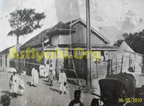 La zawiya en baraque en bois en 1909