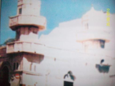 Première construction de la zawiya après sa version en baraque