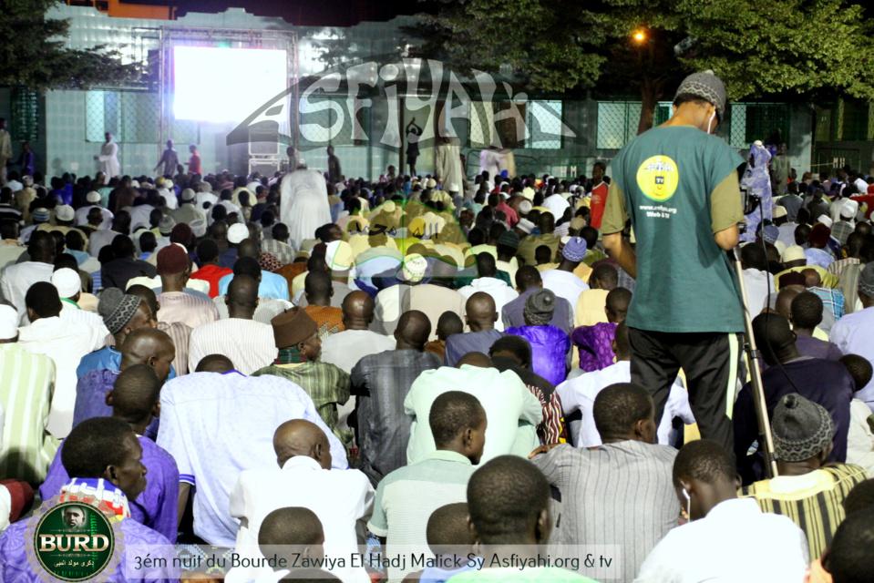 PHOTOS - GAMOU TIVAOUANE 2017 - Les Images de la troisième nuit du Bourde a la Zawiya El Hadj Malick Sy
