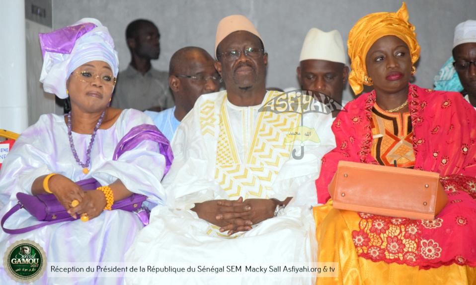 PHOTOS - Gamou Tivaouane 2017 - La famille de Seydil hadj Malick Sy acceuille le President Macky Sall