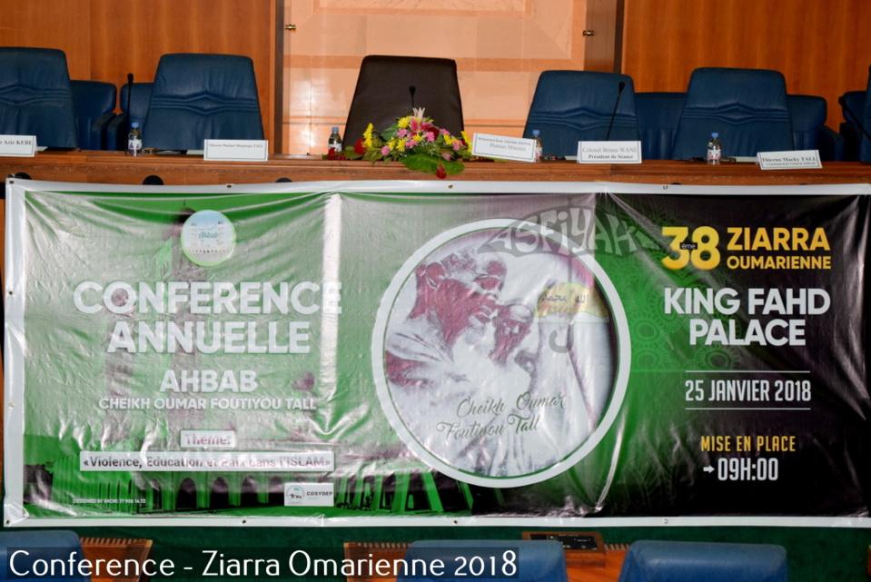 PHOTOS - ZIARRA OMARIENNE 2018 - Les Images de la Conférence de lancement de la 38ieme édition sur le thème VIOLENCE, EDUCATION ET PAIX EN ISLAM