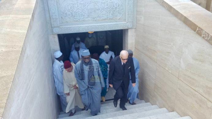 PHOTOS - Arrivé au Maroc du Khalif Général des Tidianes Serigne Babacar Sy Mansour, accompagné de toute la famille de Seydil Hadj Malick Sy (rta)