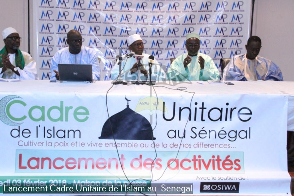 PHOTOS ET VIDEO - Lancement officiel des activités du Cadre Unitaire de l'Islam au Sénégal