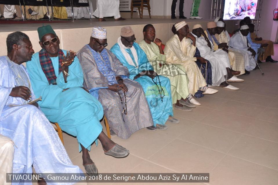 PHOTOS - TIVAOUANE - Les Images du Gamou Abrar 2018,de Serigne Abdoul Aziz SY Al Amine (rta), présidé par le Khalif General des Tidianes Serigne Mbaye Sy Mansour et Serigne Pape Malick SY