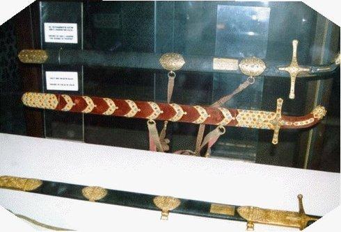 Epées de Khalid ibn Walid au Musée Topkapi de Turquie