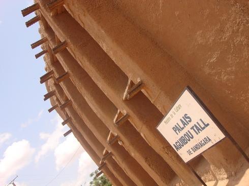Palais Aguibou Tall, descendant de l'Almamy et dernier Roi de Bandiagara