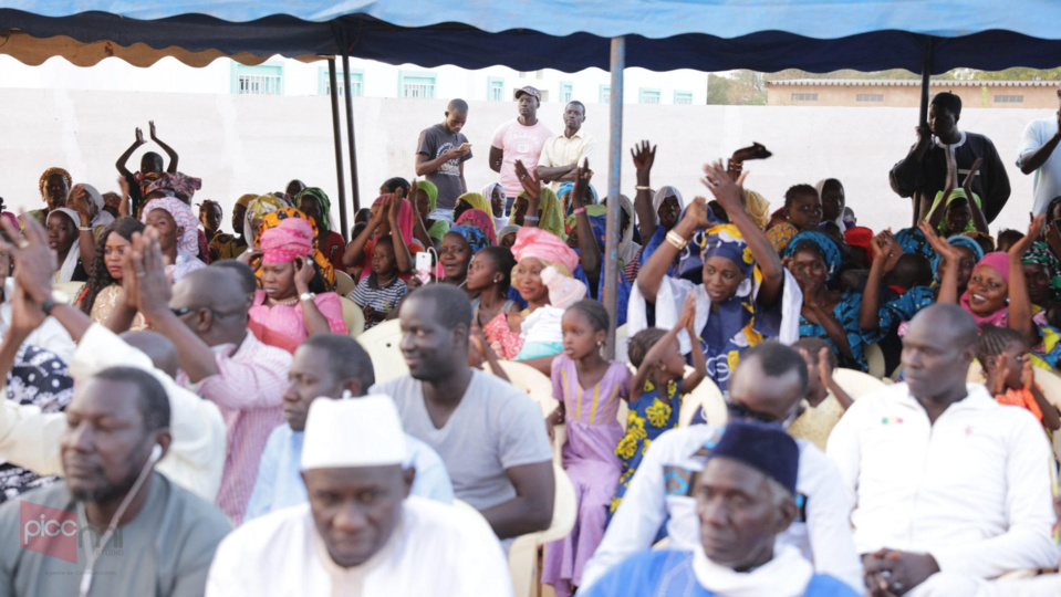 PHOTOS - RSE : Djamil SY, fils de Serigne Mansour Sy Borom Daara Ji, offre un centre de Santé « Clé en Main » à la Commune de Ngoudiane