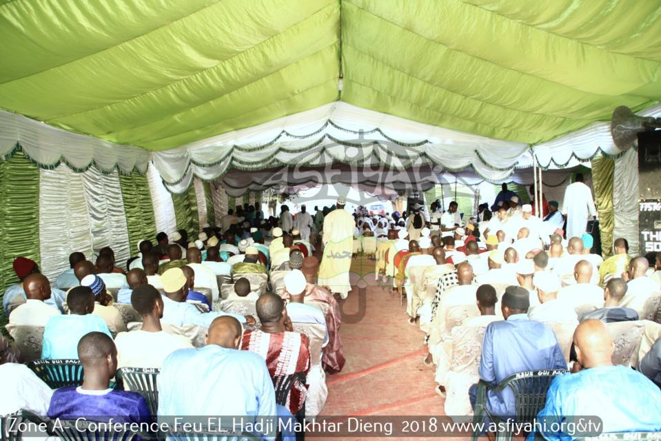 Zone A - Les Images de la Conférence de la famille de Feu Imam El Hadji Makhtar Dieng, édition 2018