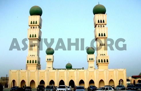 La grande mosquée Thierno Seydou Nourou Tall Sur l'avenue Malick Sy Dakar