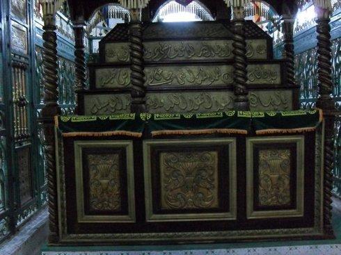 Mausolée du Cheikh Hadj Ali Tamassini à Tamacine en Algérie