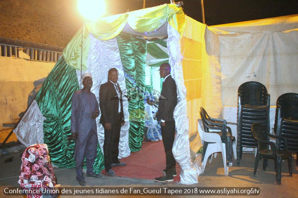 """PHOTOS - Les Images de la """"Nuit serigne Babacar SY 2018"""" organisée par l'Union des jeunes Tidianes de Fann-Gueule Tapée"""
