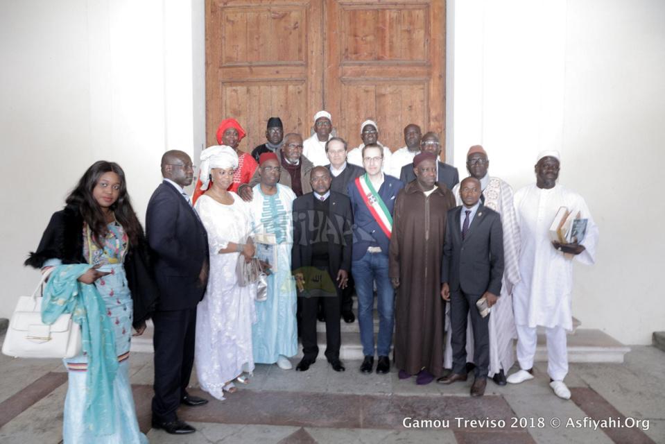 PHOTOS - GAMOU TREVISO 2018 - Les délégations officielles rencontrent le maire de la ville de Conegliano