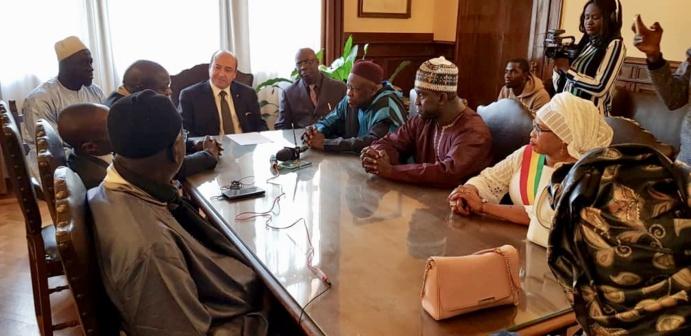 GAMOU TREVISO 2018 - Le Préfet de Trevise reçoit les délégations officielles