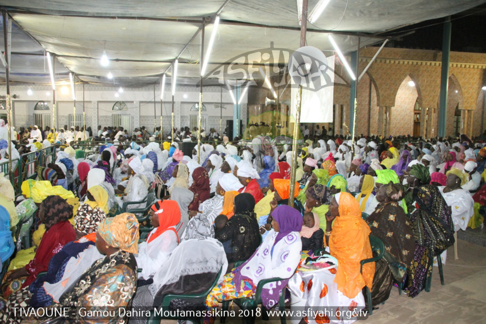 PHOTOS - TIVAOUANE - Les Images du Gamou Moutamassikina 2018, présidé par le Khalif General des Tidianes Serigne Babacar SY Mansour