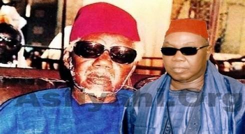 [ ARCHIVES VIDEOS ] Visite de Feu Serigne Mbacke Sokhna Lo à Tivaouane Chez Feu El hadj Abdoul Aziz Sy Dabakh