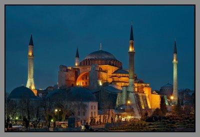 Aya Sophia, cette église devenue mosquée