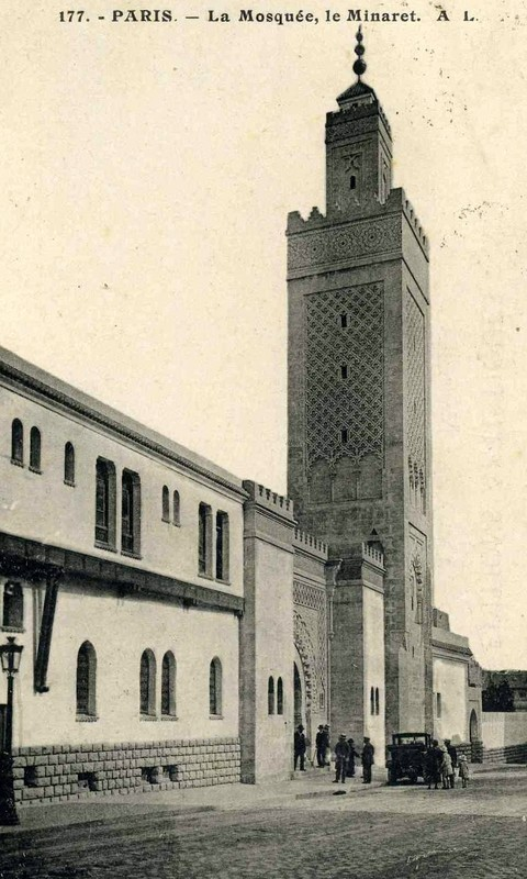 La Grande mosquée de Paris fin des années 1920 (1929 ?)