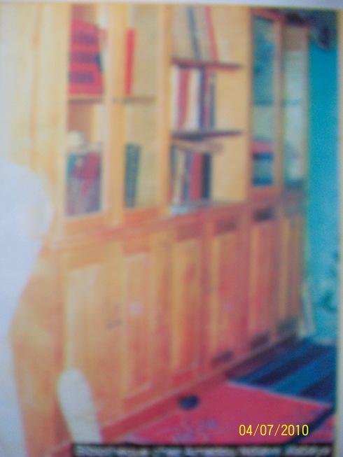 bibliothèque CHEZ AMADOU NDIAYE MABEYE SAINT -LOUIS