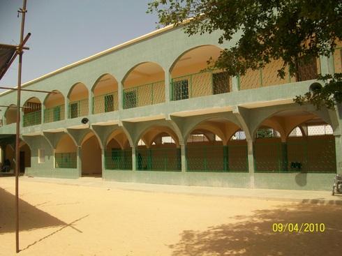 Intérieur de la Zawiya de Tivaouane : l'Institut El Hadj Malick Sy qui accueille des centaines d'étudiants