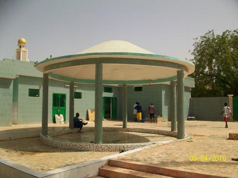 Vue Cour de la Zawiya
