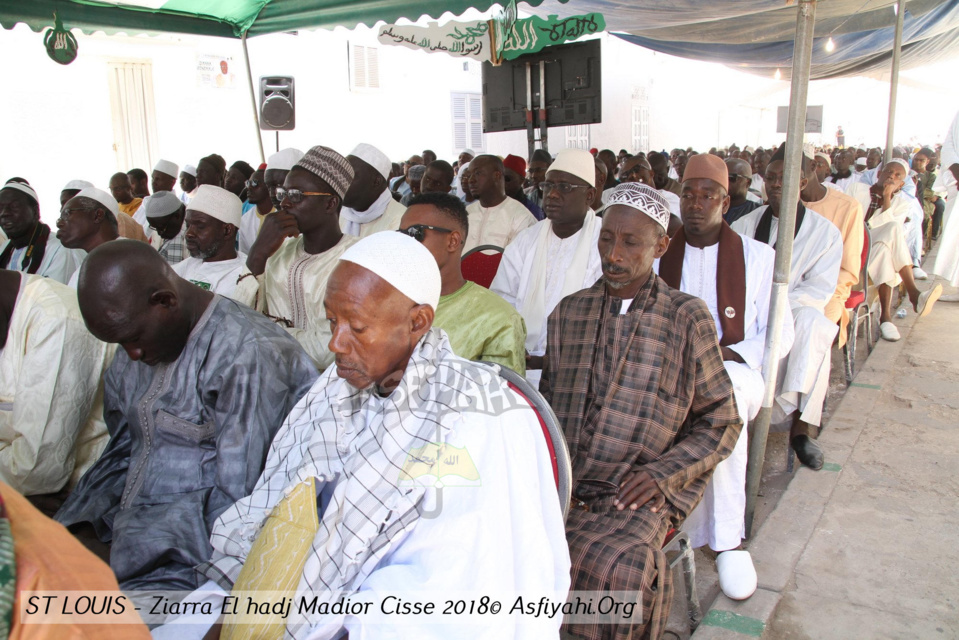PHOTOS - SAINT-LOUIS - Les Images de la Ziarra Generale 2018 dédiée à Serigne El Hadj Madior Cissé, présidée par son Khalif Imam Abdallah Cissé