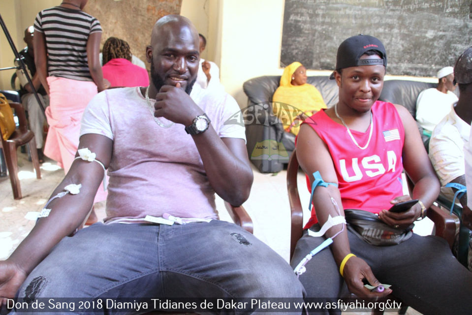 PHOTOS - Les images du Don de Sang de la Jeunesse Tidiane de Dakar Plateau à la Résidence Serigne Babacar Sy